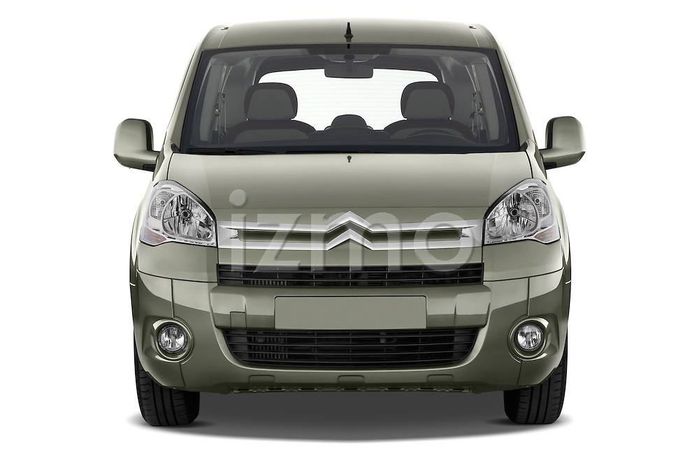 Straight front view of a 2008 - 2014 Citroen BERLINGO Multispace 5-Door Mini Mpv 2WD