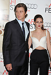 LOS ANGELES, CA - NOVEMBER 03: Garrett Hedlund and Kristen Stewart arrive at the 2012 AFI FEST - 'On The Road' Gala Screening at Grauman's Chinese Theatre on November 3, 2012 in Hollywood,