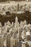 aerial photograph Upper East Side, Manhattan, New York City
