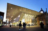 Nederland Amsterdam. Aanbouw aan het Stedelijk Museum. Foto Berlinda van Dam / Hollandse Hoogte