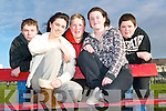 We're so bored: Ballybunion youths say they are too old for playgrounds and too young for pubs and need a youth cafe. Pictured are Bridget O'Carroll and Tara Holly. Back l-r Blake Hornyak, Lee Sugrue and Ryan O'Connor.   Copyright Kerry's Eye 2008