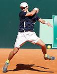 USA's Sam Riffice during Junior Davis Cup 2015 match. September  30, 2015.(ALTERPHOTOS/Acero)