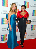 Giselle Fernandez and Lisa Bloch arrive for the formal Artist's Dinner honoring the recipients of the 2014 Kennedy Center Honors hosted by United States Secretary of State John F. Kerry at the U.S. Department of State in Washington, D.C. on Saturday, December 6, 2014. The 2014 honorees are: singer Al Green, actor and filmmaker Tom Hanks, ballerina Patricia McBride, singer-songwriter Sting, and comedienne Lily Tomlin.<br /> Credit: Ron Sachs / Pool via CNP