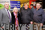 Pictured at Kellihers Electrical, Ballymullen, Tralee open day on Thursday, were l-r: Tom Meehan (Ei Electronics) with Margaret Kelly, Emmett Kelly and Tommy O'Sullivan (all Tralee)