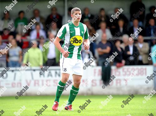 2011-07-17 / Voetbal / seizoen 2011-2012 / Racing Mechelen / Wannes Haemels ..Foto: mpics