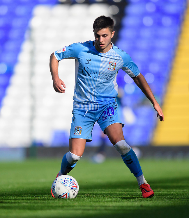 Coventry City's Liam Walsh<br /> <br /> Photographer Chris Vaughan/CameraSport<br /> <br /> The EFL Sky Bet League One - Coventry City v Blackpool - Saturday 7th September 2019 - St Andrew's - Birmingham<br /> <br /> World Copyright © 2019 CameraSport. All rights reserved. 43 Linden Ave. Countesthorpe. Leicester. England. LE8 5PG - Tel: +44 (0) 116 277 4147 - admin@camerasport.com - www.camerasport.com
