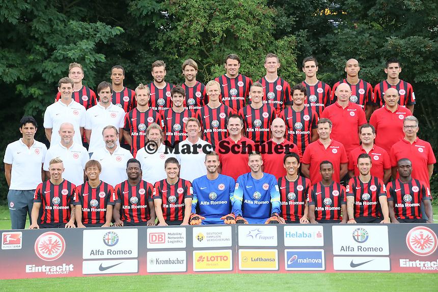 Mannschaftsfoto Eintracht Frankfurt