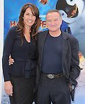 Robin Williams and new wife Susan Schneider  at The Warber Bros. Pictures'  World Premiere of HAPPY FEET TWO held at The Grauman's Chinese Theatre in Hollywood, California on November 13,2011                                                                               © 2011 Hollywood Press Agency