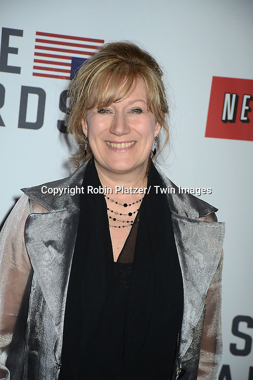 """Jayne Atkinson attends the Premiere of """"House of Cards"""" on January 30, 2013 at Alice Tully Hall at Lincoln Center in New York City. The movie is available to watch on Netflix on February 1, 2013. The show stars Kevin Spacey, Kate Mara, Robin Wright, Michael Kelly, Corey Stoll, Kristen Connoly, Sakina Jaffrey, Constance Zimmer and  Sandrine Holt."""