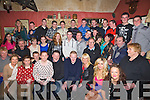 PARTY: A big party was held for Conor Fuitzell, Kilmoyley in the Tochár Bán, Bar, Kilmoyley on Saturday night for Conor Fitzell to celebrated his 21st birthday with his family and friends. (conor is seated 3rd from right). ....