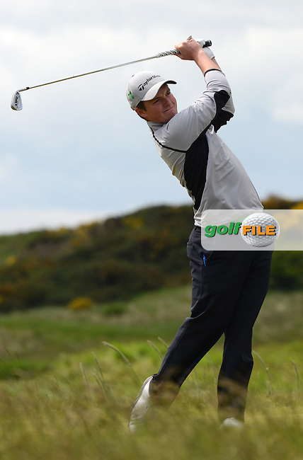 Jack Hume of Naas in action during the First Round of the 120th Amateur Championship at Carnoustie Golf Links, Carnoustie, Scotland. Picture: Golffile | Richard Martin Roberts<br /> All photo usage must carry mandatory copyright credit (&copy; Golffile | Richard Martin Roberts)