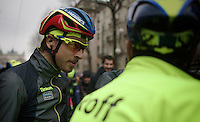 Peter Sagan (SVK/Tinkoff-Saxo) before the start<br /> <br /> 106th Milano - San Remo 2015