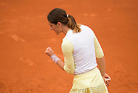 ANDREA PETKOVIC (GER)<br /> <br /> TENNIS - FRENCH OPEN - ROLAND GARROS - ATP - WTA - ITF - GRAND SLAM - CHAMPIONSHIPS - PARIS - FRANCE - 2016  <br /> <br /> <br /> <br /> &copy; TENNIS PHOTO NETWORK