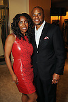 Honoree Tiffany Avery Smith and her husband Rick at the Houston Chronicle's Best Dressed Announcement Party at Neiman Marcus Wednesday Jan. 30, 2013.(Dave Rossman/ For the Chronicle)