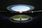A general view of the Olympiastadion before the International Friendly match at Olympiastadion.  Photo credit should read: David Klein/Sportimage