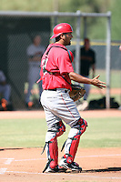 Jean Segura - Los Angeles Angels - 2010 Instructional League.Photo by:  Bill Mitchell/Four Seam Images..