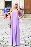 Amber Le Bon arrives for the VIP preview of the Royal Academy of Arts Summer Exhibition 2016