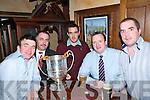 Man Of The Match Function : Pictured at the North Kerry Board's Manof the |Match function at McMunn's Bar & Restaurant, Ballybunion on Friday night last were Jack halpin, Martin Leen, Duagh captain Ciaran Quirke, Conor Keane & Adrain Collins.