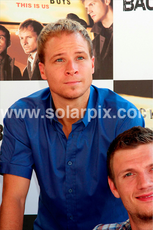 "**ALL ROUND PICTURES FROM SOLARPIX.COM**.**SYNDICATION RIGHTS FOR UK, ASIA, AUSTRALIA, CANADA, DUBAI, GREECE, NEW ZEALAND, RUSSIA, SOUTH AFRICA, SOUTH AMERICA, AND USA**.Boy band ""The Backstreet Boys"" presenting their latest album ""This is Us"" in madrid Spain..This pic:..JOB REF:9913       SPA     DATE:9.9.09.**MUST CREDIT SOLARPIX.COM OR DOUBLE FEE WILL BE CHARGED**.**MUST NOTIFY SOLARPIX OF ONLINE USAGE**.**CALL US ON: +34 952 811 768 or LOW RATE FROM UK 0844 617 7637**"