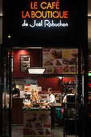 Le Cafe La Boutique de Joel Robuchon, <br /> Joel Robuchon's cafe and shop in Yurakucho, Tokyo Japan