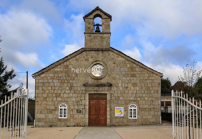 France, Haute-Loire (43), Le Chambon-sur-Lignon, le Temple protestant // France, Haute Loire, Le Chambon sur Lignon, Protestant Temple