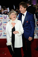LONDON, UK. October 29, 2018: Gloria Hunniford &amp; Sir Cliff Richard at the Pride of Britain Awards 2018 at the Grosvenor House Hotel, London.<br /> Picture: Steve Vas/Featureflash