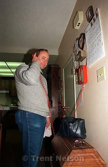 Steve Nelson on phone.<br />