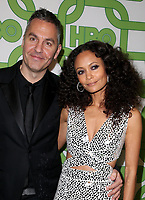 06 January 2019 - Beverly Hills , California - Ol Parker and Thandie Newton. 2019 HBO Golden Globe Awards After Party held at Circa 55 Restaurant in the Beverly Hilton Hotel. <br /> CAP/ADM/FS<br /> &copy;FS/ADM/Capital Pictures