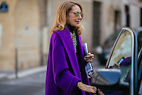 Marisa Berenson at Paris Fashion Week (Photo by Hunter Abrams/Guest of a Guest)