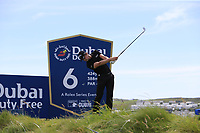 Thomas Detry (BEL) tees off the 6th tee during Thursday's Round 1 of the Dubai Duty Free Irish Open 2019, held at Lahinch Golf Club, Lahinch, Ireland. 4th July 2019.<br /> Picture: Eoin Clarke | Golffile<br /> <br /> <br /> All photos usage must carry mandatory copyright credit (© Golffile | Eoin Clarke)