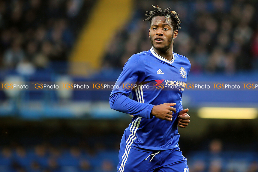 Michy Batshuayi of Chelsea during Chelsea vs Peterborough United, Emirates FA Cup Football at Stamford Bridge on 8th January 2017