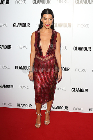 Kourtney Kardashian at The Glamour Awards 2016 at Berkeley Square Gardens London on June 7th 2016<br /> CAP/ROS<br /> &copy;Steve Ross/Capital Pictures /MediaPunch ***NORTH AND SOUTH AMERICAS ONLY***