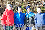 James Sexton, Pat Dunworth, Cian Hogan An Riocht and Marie Harty Causeway at the Farranfore road race on Sunday.