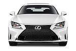 Car photography straight front view of a 2015 Lexus RC F Sport 2 Door Coupe 2WD Front View
