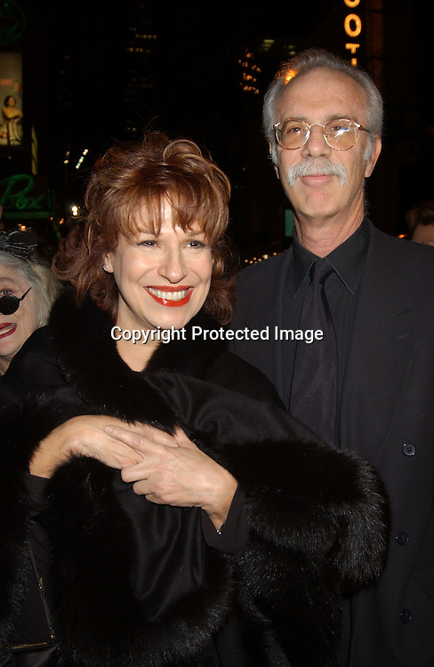 "..Joy Behar and boyfriend Steve..at the Broadway opening of "" The Boy From Oz""  on October 16,2003 in New York City at the Imperial theatre...Photo By Robin Platzer, Twin Images"