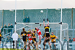 Billy O'Connor Dingle in action against Johnny Buckley of Dr. Crokes during the Kerry County Senior Club Football Championship Final match between Dr Crokes and Dingle at Austin Stack Park in Tralee, Kerry on Sunday.
