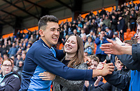 Luke O'Nien of Wycombe Wanderers at full time during the Sky Bet League 2 match between Barnet and Wycombe Wanderers at The Hive, London, England on 17 April 2017. Photo by Andy Rowland.