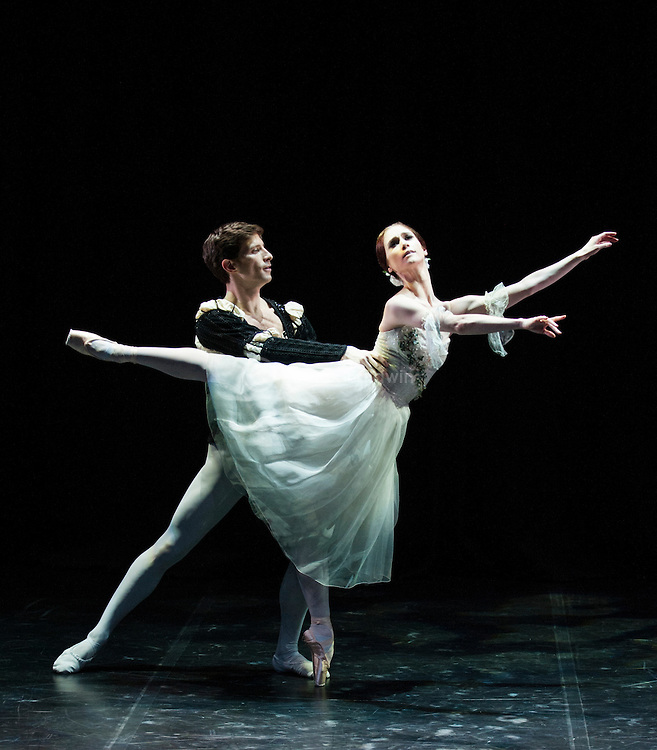 English National Ballet. Emerging Dancer competition 2013. Queen Elizabeth Hall. Alison McWhinney, Nathan Young.