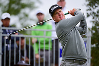 Charley Hoffman (USA) watches his tee shot on 10 during round 3 of the Valero Texas Open, AT&amp;T Oaks Course, TPC San Antonio, San Antonio, Texas, USA. 4/22/2017.<br /> Picture: Golffile | Ken Murray<br /> <br /> <br /> All photo usage must carry mandatory copyright credit (&copy; Golffile | Ken Murray)