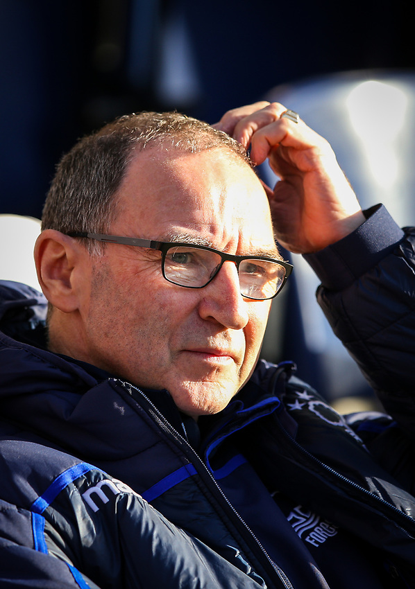 Nottingham Forest manager Martin O'Neill<br /> <br /> Photographer Alex Dodd/CameraSport<br /> <br /> The EFL Sky Bet Championship - Preston North End v Nottingham Forest - Saturday 16th February 2019 - Deepdale Stadium - Preston<br /> <br /> World Copyright © 2019 CameraSport. All rights reserved. 43 Linden Ave. Countesthorpe. Leicester. England. LE8 5PG - Tel: +44 (0) 116 277 4147 - admin@camerasport.com - www.camerasport.com