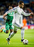 Real Madrid's Spanish forward Jese Rodriguez during the Champions league football match Real Madrid vs Ludogorets at the Santiago Bernabeu stadium in Madrid on december 9, 2014. Samuel de Roman / Photocall3000.