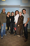 """Cast of Hamlet - (L to R) Howard Kaye, Mandy Bruno, Paul Wyatt, Caralyn Kozlowski, Joy Franz and Jay Montgomery as Guiding Light's Mandy Bruno stars in """"I Hate Hamlet"""" presented by  Harbor Light theater Company on November 19, 2010 at the Snug Harobr Cultural Center, Staten Island, New York. (Photo by Sue Coflin/Max Photos)"""