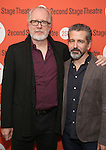 Tracy Letts and David Cromer attend the Second Stage Theatre's Off-Broadway Opening Night After Party for 'Man From Nebraska'  at Dos Caminos on 2/15/2017 in New York City.