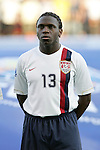 06 July 2007: USA's Ofori Sarkodie. The Under-20 Men's National Team of the United States defeated Brazil's Under-20 Men's National Team 2-1 in a Group D opening round match at Frank Clair Stadium in Ottawa, Ontario, Canada during the FIFA U-20 World Cup Canada 2007 tournament.