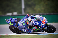 MAVERICK VINALES - SPANISH - MOVISTAR YAMAHA MotoGP - YAMAHA<br /> Brno 06-08-2017 <br /> Moto Gp Repubblica Ceca  <br /> Foto Vincent Guignet / Panoramic / Insidefoto