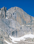 The Diamond rock formation on Longs Peak, Rocky Mountain National Park, Colorado,