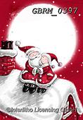 Roger, CHRISTMAS SANTA, SNOWMAN, WEIHNACHTSMÄNNER, SCHNEEMÄNNER, PAPÁ NOEL, MUÑECOS DE NIEVE, paintings+++++,GBRM0397,#x#