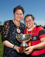 181020 Farah Palmer Cup Premiership Women's Rugby Final - Canterbury v Counties Manukau