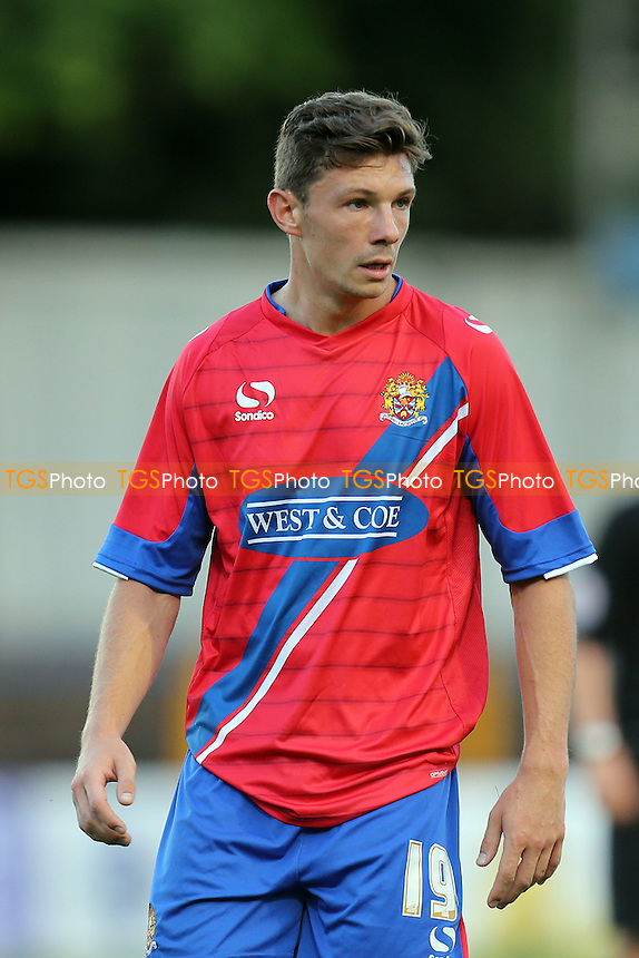 Matt McClure of Dagenham - St Albans City vs Dagenham and Redbridge - Pre season football at the Clarence Park Stadium - 06/07/15 - MANDATORY CREDIT: Dave Simpson/TGSPHOTO - Self billing applies where appropriate - 0845 094 6026 - contact@tgsphoto.co.uk - NO UNPAID USE