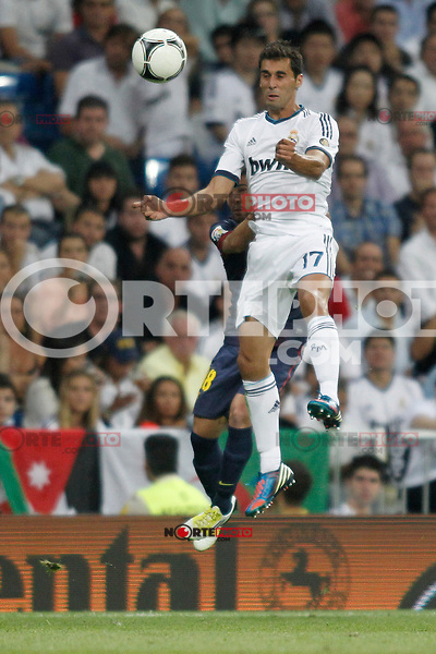 Real Madrid's Arbeola  during Super Copa of Spain on Agost 29th 2012...Photo:  (ALTERPHOTOS/Ricky) Super Cup match. August 29, 2012. <br />  (foto:ALTERPHOTOS/NortePhoto.com<br /> <br /> **CREDITO*OBLIGATORIO** <br /> *No*Venta*A*Terceros*<br /> *No*Sale*So*third*<br /> *** No*Se*Permite*Hacer*Archivo**<br /> *No*Sale*So*third*